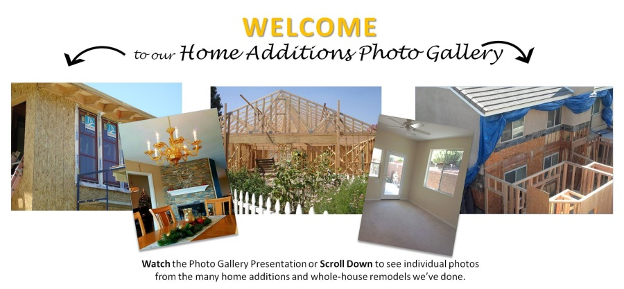 Home Addition Photo Gallery Welcome