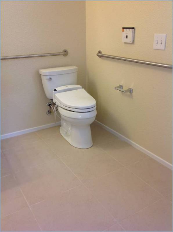 handicap bathroom