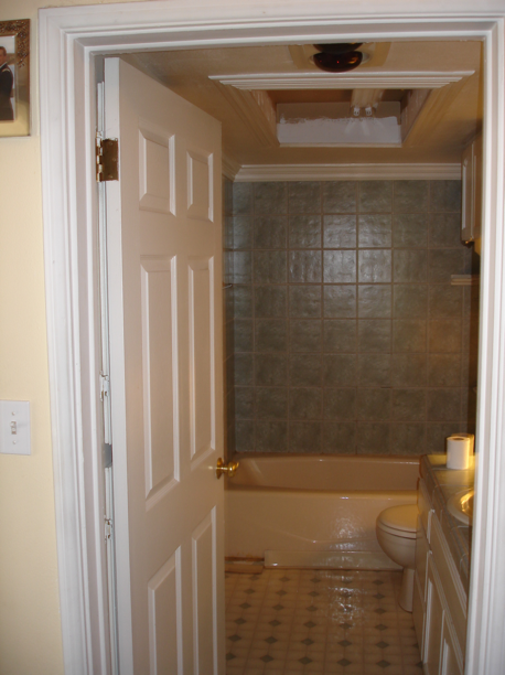 Custom Bathroom Remodel- before photo