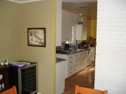 Custom Kitchen Remodel- before photo
