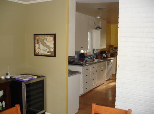 Custom Kitchen Remodel- before photo