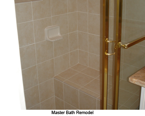 Remove and Replace Bathroom Remodel