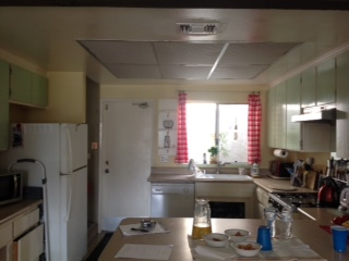 Kitchen remodel- before photo
