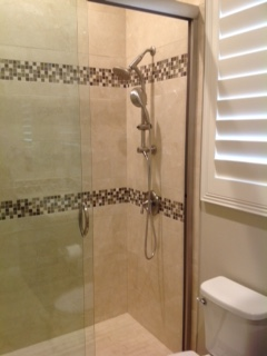 Beaumont bathroom remodel